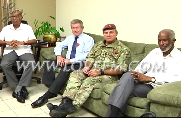 PM Meets with British Forces