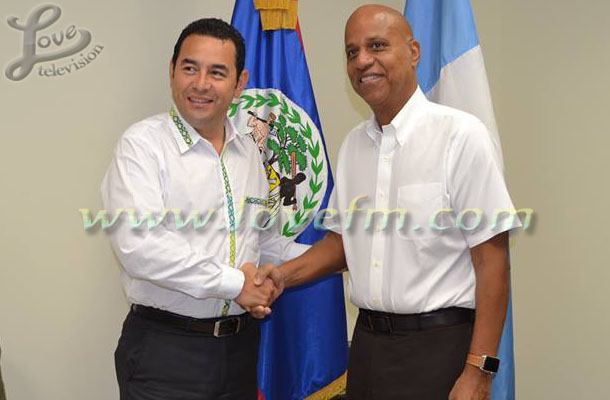Jimmy Morales and Dean Barrow 2