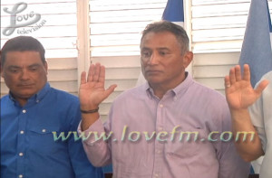 pup swearing in