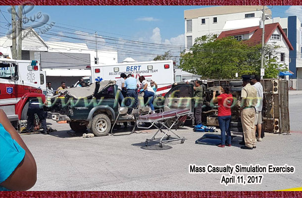Mass Casualty Accident Simulation Tests Readiness of Essential ...