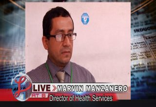 Belize, Marvin Manzanero , Director of Health Services, Hospital