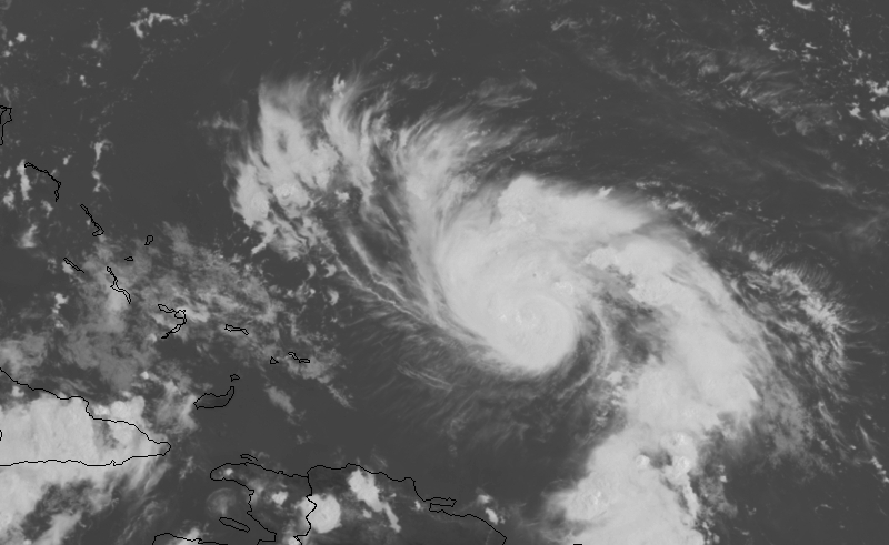 Dorian strengthens to Cat. 2, expected to become major storm