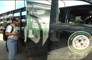 belize coast guard truck