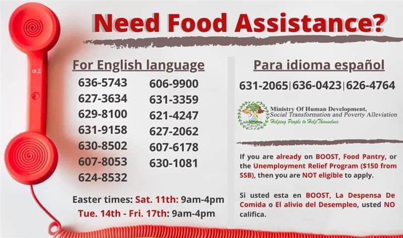 Food Assistance Numbers
