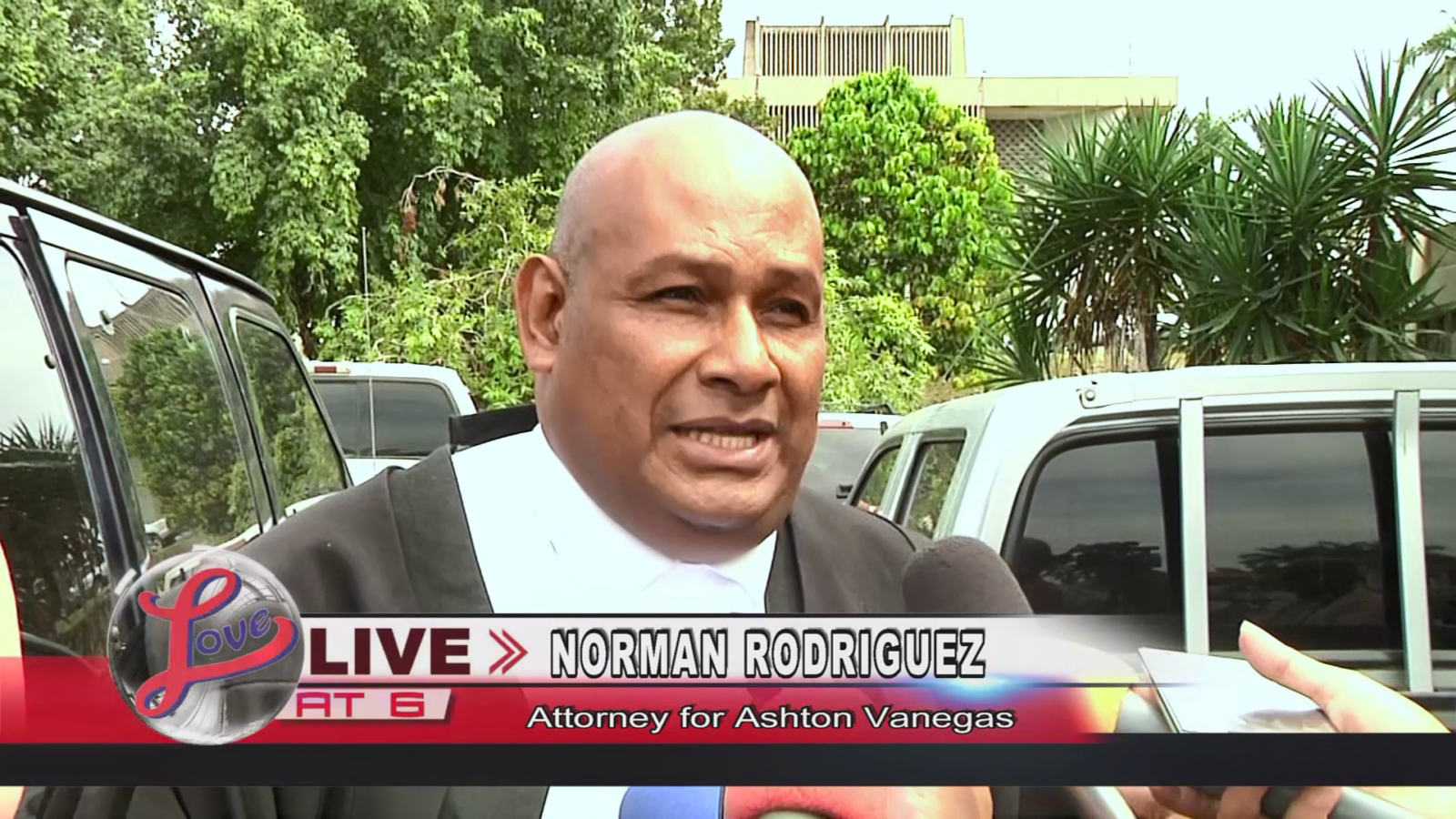 Norman Rodriguez, Attorney for Ashton Vanegas