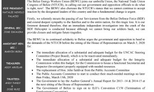 The BEWU Urges Officials to Heed NTUCB's Demands